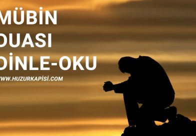 Mübin Duası
